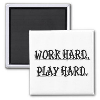 El trabajo difícilmente, juega el imán duro
