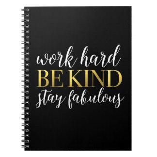 El trabajo difícilmente, sea bueno, estancia notebook