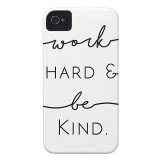 El trabajo difícilmente y sea bueno carcasa para iPhone 4 de Case-Mate
