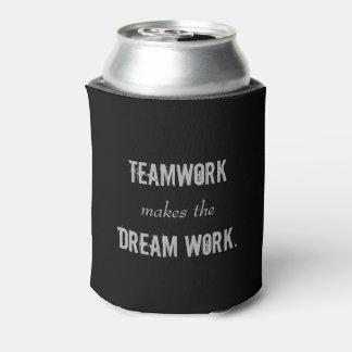 El trabajo en equipo hace la poder de Dreamwork Enfriador De Latas