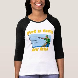 El trabajo es sumamente la camiseta de las mujeres poleras