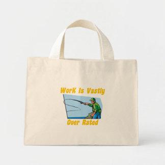 El trabajo está sumamente sobre bolso clasificado bolsa de tela pequeña