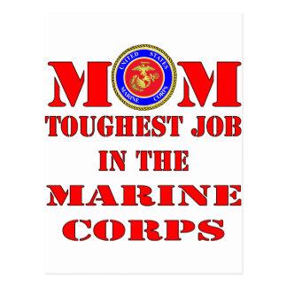 El trabajo más duro de la mamá marina del USMC en Postales