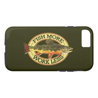 El trabajo menos, pesca a más pescador funda iPhone 7