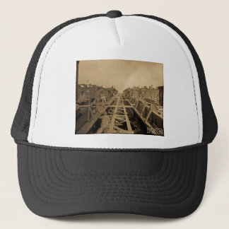 El Track & Station Construction Second Ave & 86th Trucker Hat
