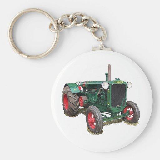 El tractor de Huber HK Llavero Personalizado