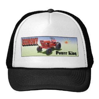 El tractor de la economía gorros