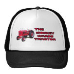 El tractor de las salas gorro