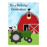El tractor verde y el cumpleaños rojo del granero  comunicados
