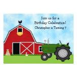 El tractor verde y el cumpleaños rojo del granero  anuncio