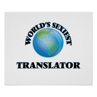 El traductor más atractivo del mundo impresiones