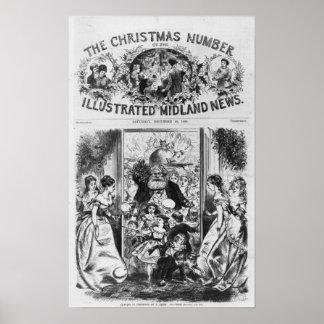 El traer en navidad póster