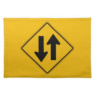 El tráfico bidireccional, trafica la señal de mantel individual