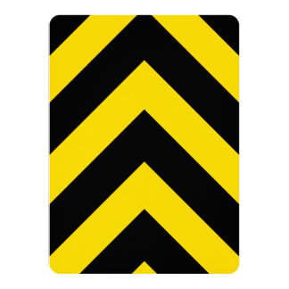 """El tráfico intrépido de la carretera manosea invitación 5.5"""" x 7.5"""""""