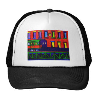 El Train Bronx Trucker Hat