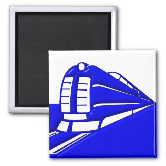 El , Train , Subway Magnet