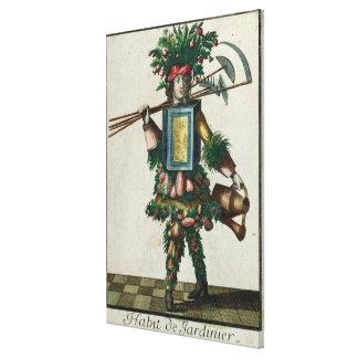 El traje del jardinero impresiones de lienzo