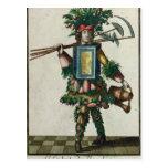 El traje del jardinero tarjetas postales