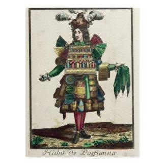 El traje del perfumista tarjetas postales