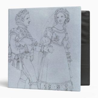 El traje diseña Figaro y a Susana de la ópera