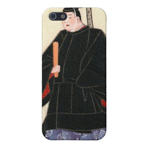 El traje y kimono 1878 del ministro que lleva del  iPhone 5 protector