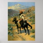 El trampero indio de Federico Remington (1889) Impresiones