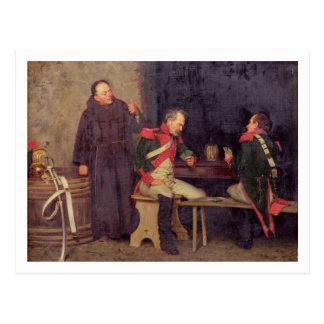 El tramposo (aceite en la lona) (uno de pares - ve tarjetas postales
