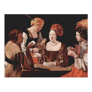 El tramposo (con el as de diamantes) - 1635 postales