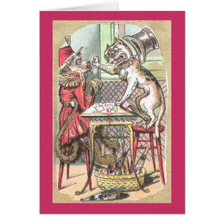 El tramposo de la tarjeta del mono dice el dogo