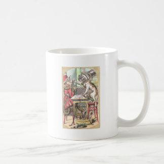 El tramposo de la tarjeta del mono dice el dogo taza