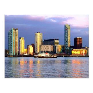 El transbordador de Mersey y la costa de Liverpool Postal