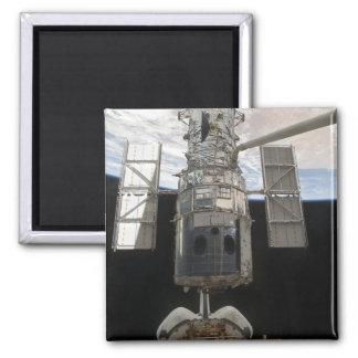 El transbordador espacial Atlant del telescopio Imán Cuadrado