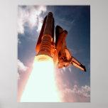 El transbordador espacial Columbia arruina apagado Impresiones