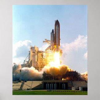 El transbordador espacial la Atlántida arruina apa Impresiones