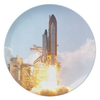 El transbordador espacial la Atlántida arruina apa Plato