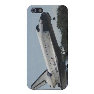 El transbordador espacial la Atlántida aterriza 2 iPhone 5 Fundas