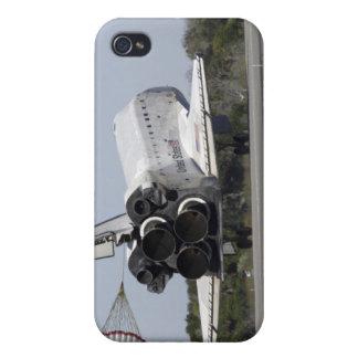 El transbordador espacial la Atlántida despliega s iPhone 4 Carcasas