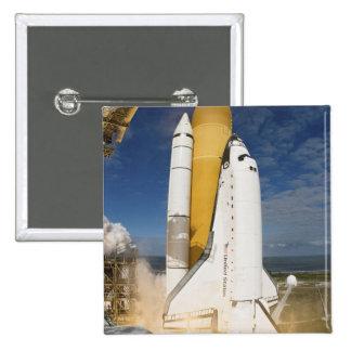 El transbordador espacial la Atlántida quita 12 Pin Cuadrado