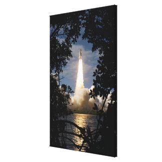 El transbordador espacial la Atlántida quita 18 Lona Envuelta Para Galerias