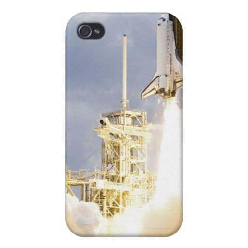 El transbordador espacial la Atlántida quita 2 iPhone 4 Fundas