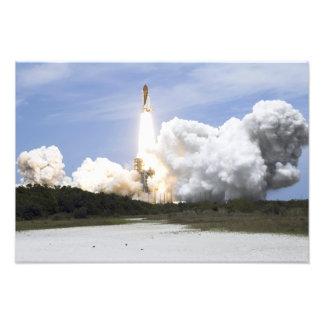 El transbordador espacial la Atlántida quita 5 Fotografías