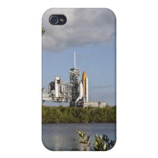 El transbordador espacial la Atlántida sienta iPhone 4 Carcasas