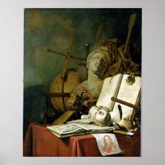 El Transience de todas las cosas terrestres, c.166 Posters