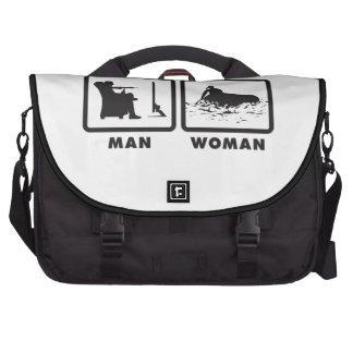 El transportar en balsa bolsa para ordenador
