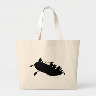 El transportar en balsa bolsa tela grande