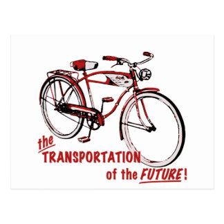 El transporte del futuro tarjeta postal