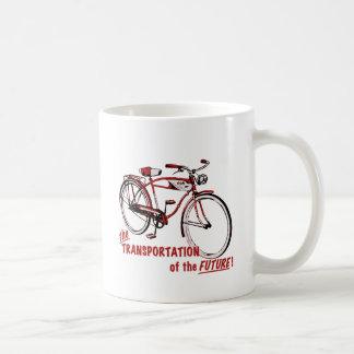 El transporte del futuro tazas de café