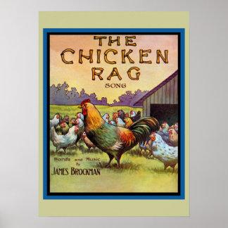 El trapo del pollo póster