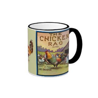 El trapo del pollo taza de dos colores