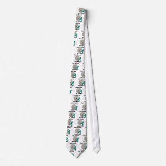 El trastorno de pánico sopla diseño de la corbata personalizada